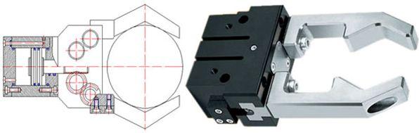 机械手末端执行器(手爪)的结构设计